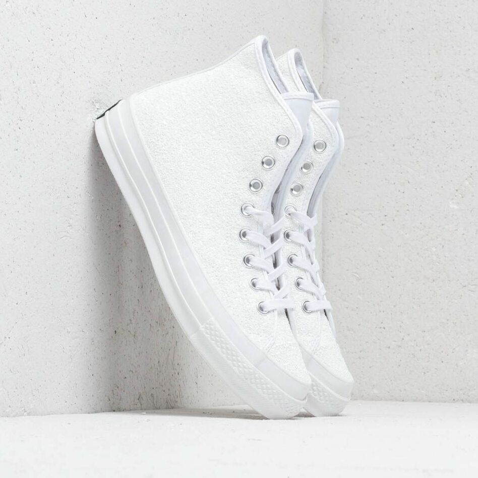 Converse Chuck Taylor All Star 70 Hi White/ Silver/ White
