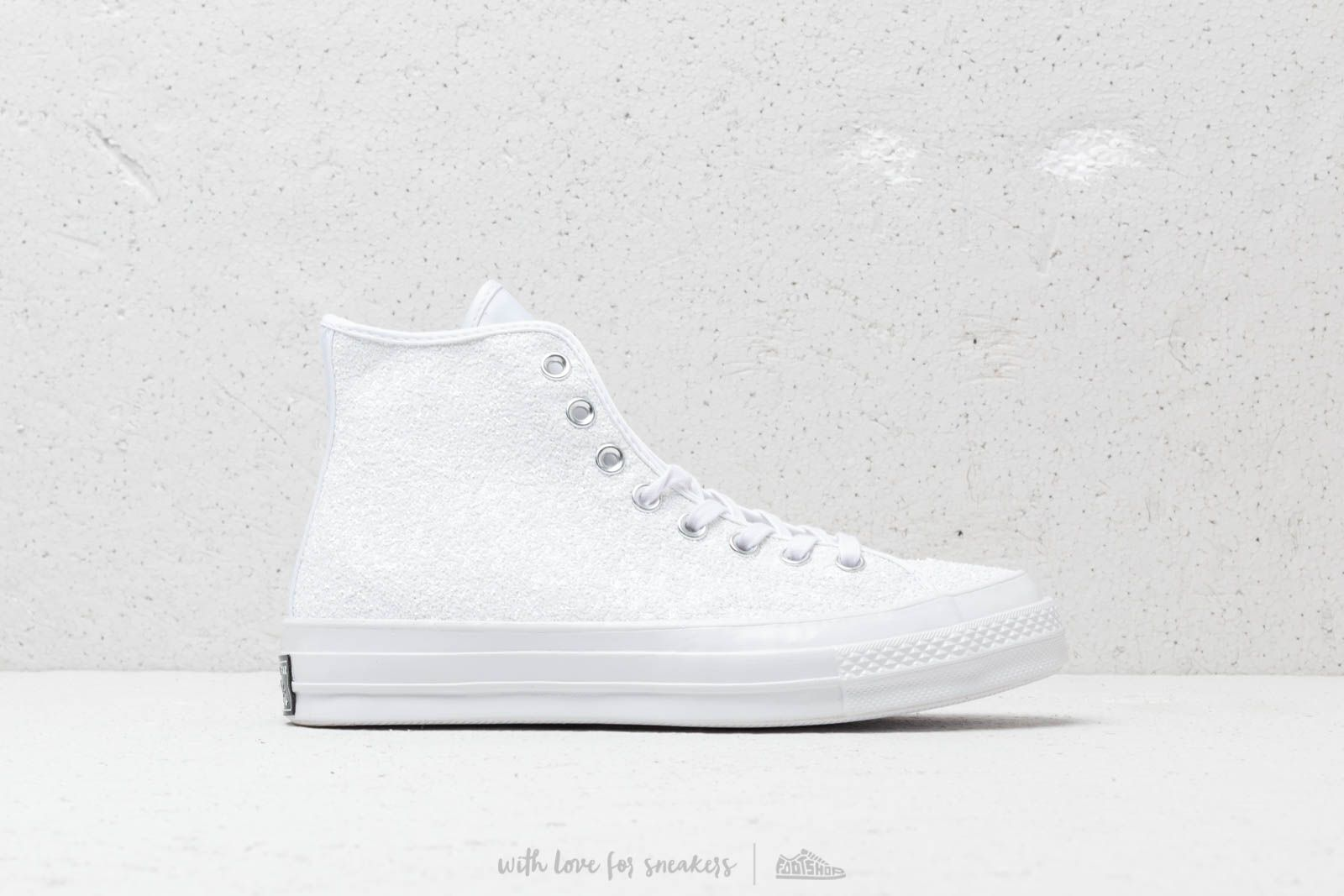 d45282075edc12 Converse Chuck Taylor All Star 70 Hi White  Silver  White at a great price