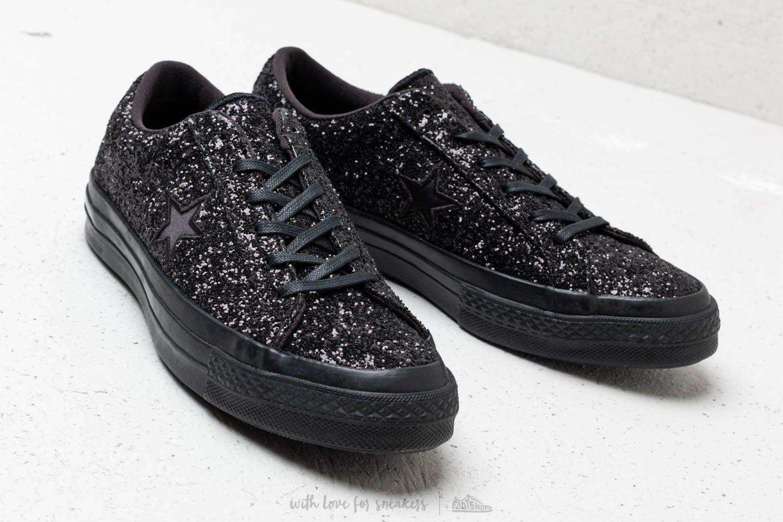 1f8dc51dd227 Converse One Star Ox Black  Black  Black at a great price £80 buy