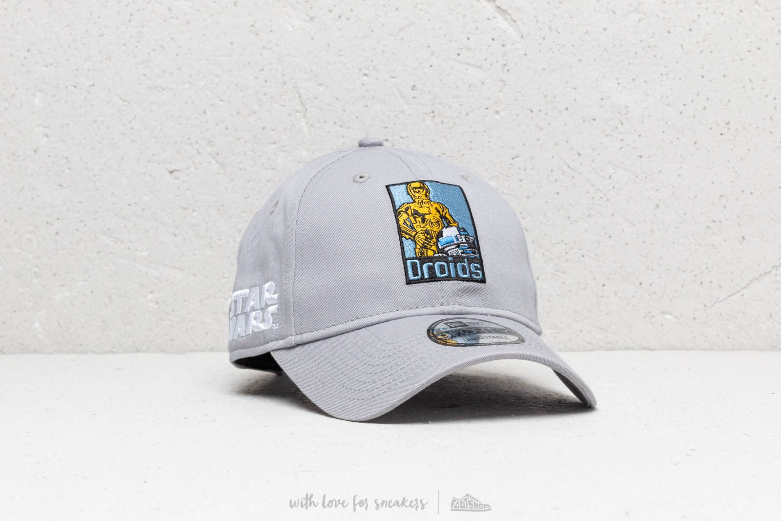 b45939be New Era 9Forty Driods Starwars Snapback Grey | Footshop