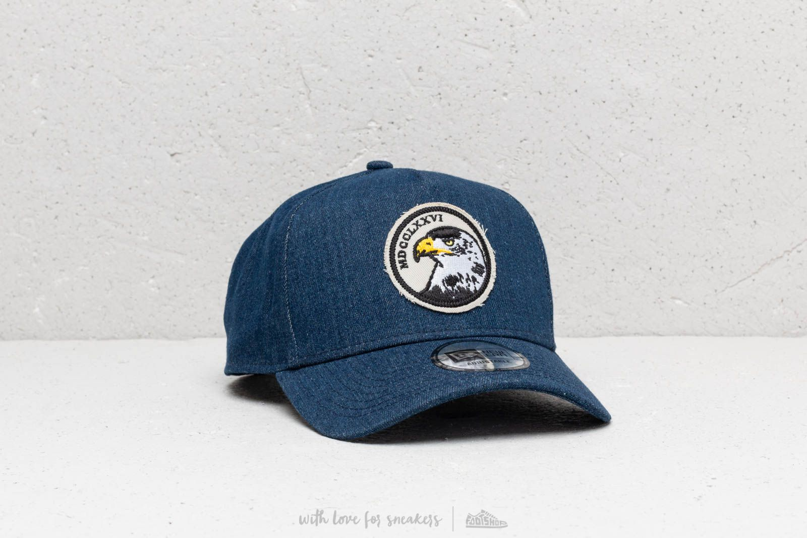 c5d467bb17798 New Era 9Forty Aframe Denim Navy Snapback at a great price 32 € buy at  Footshop