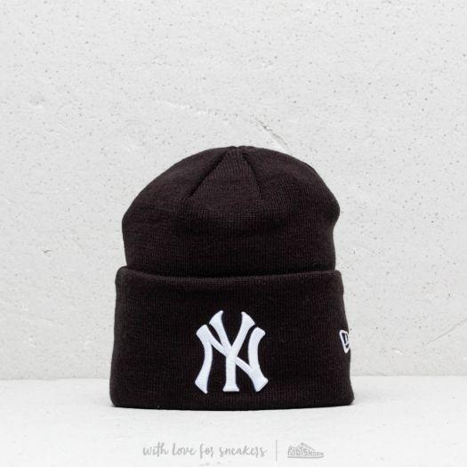New Era MLB NY Yankees Knit Beanie Black  382037ba216