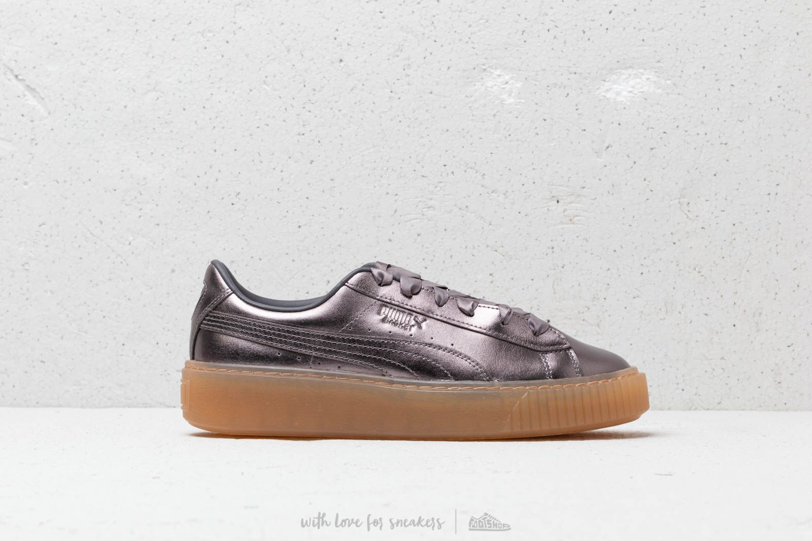 f08164c5e98b9e Puma Basket Platform Luxe Wmns Quiet Shade  Quiet Shade at a great price  110 €
