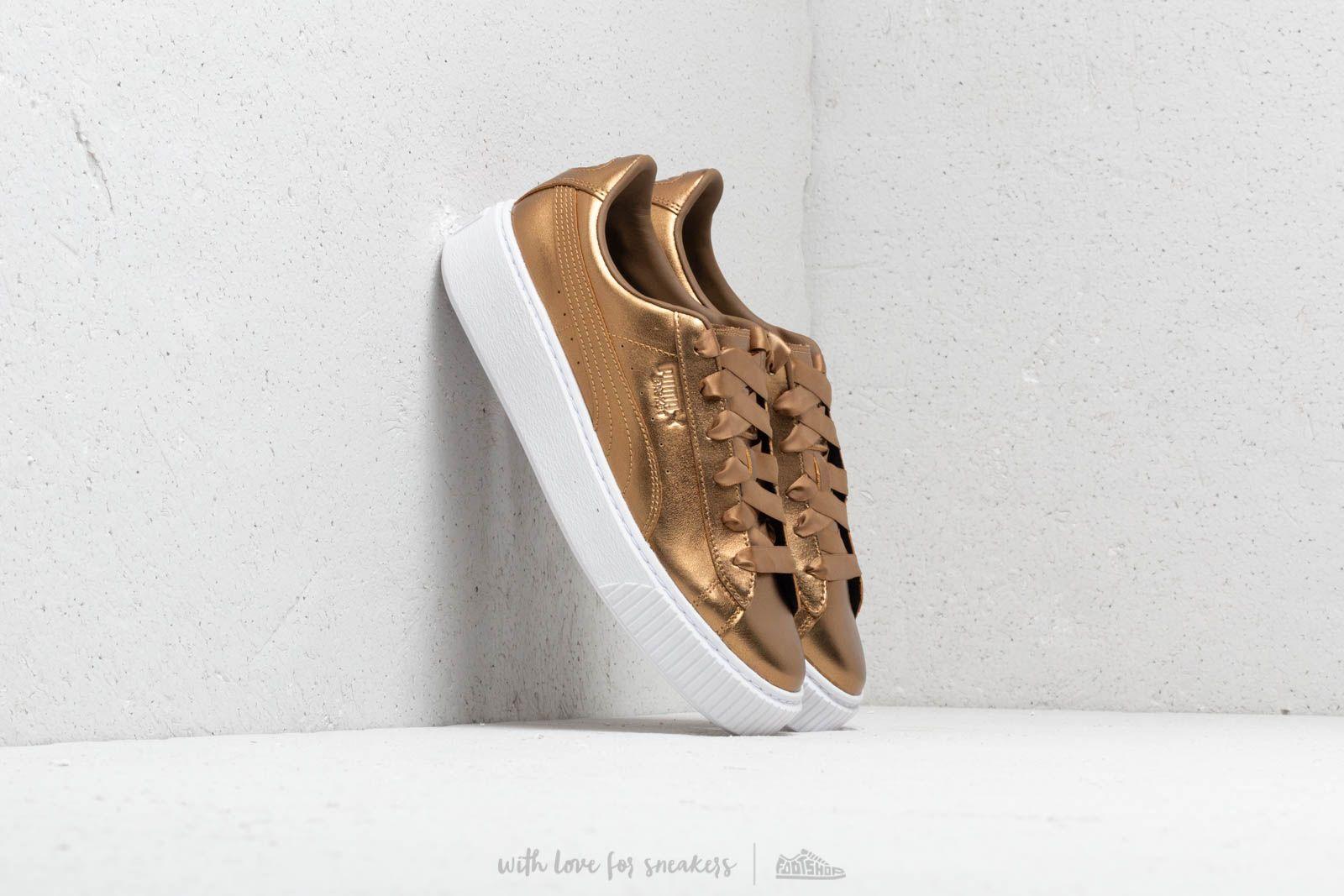 Puma Basket Platform Luxe Wmns