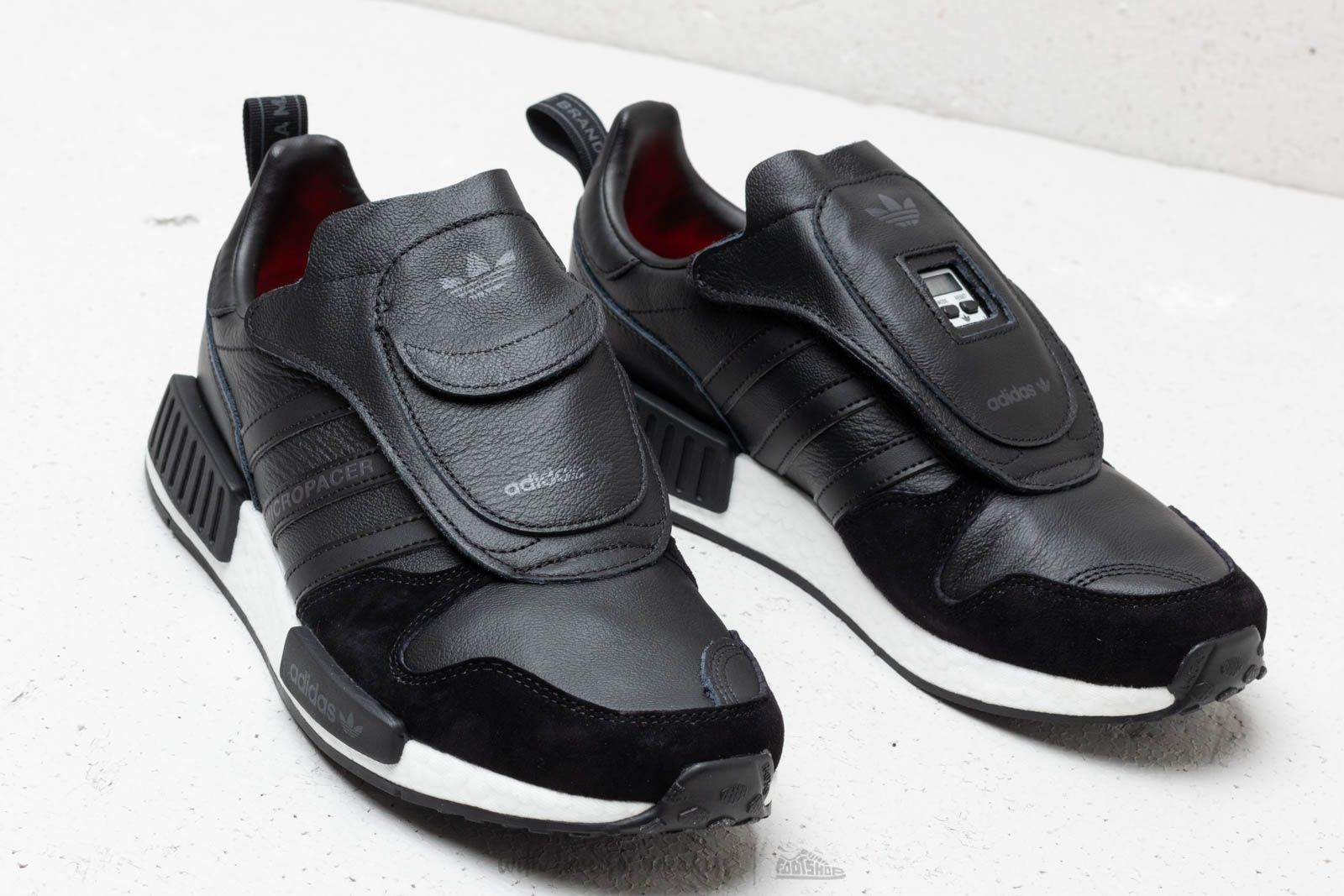 63d56b4a49e2 adidas Micropacer x R1 Core Black  Utility Black  Solar Red at a great price