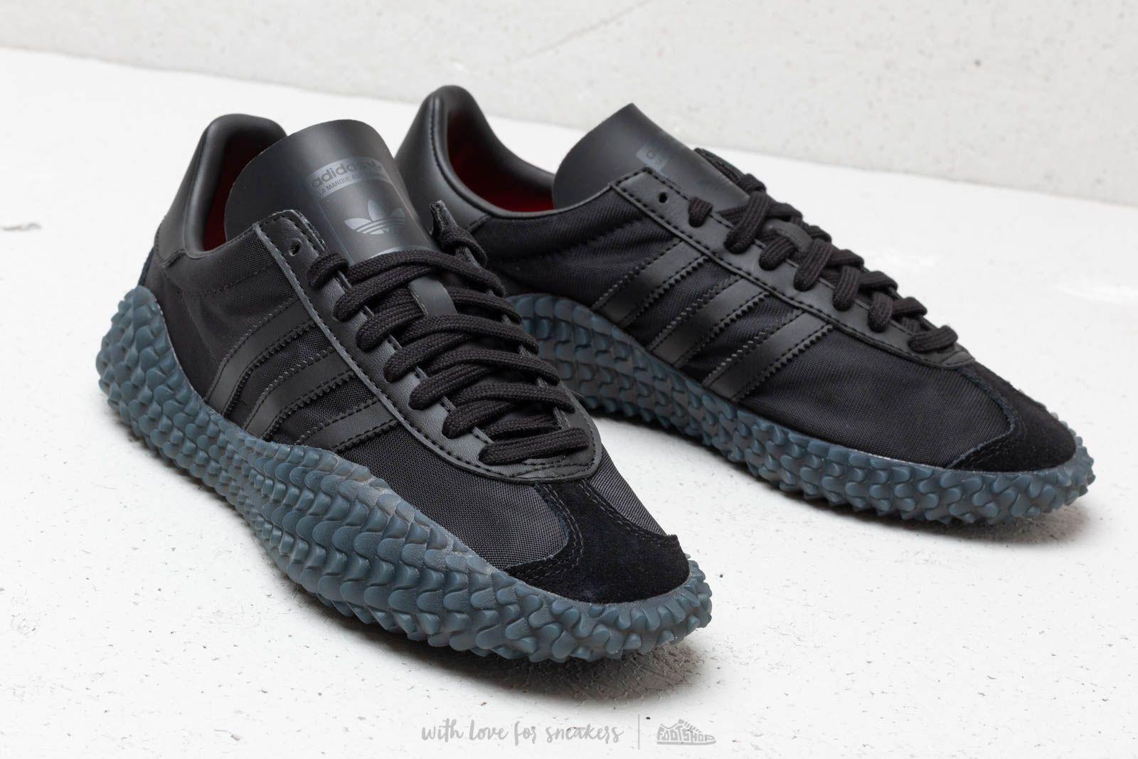 adidas Country x Kamanda Core Black Utility Black Solar Red | Footshop