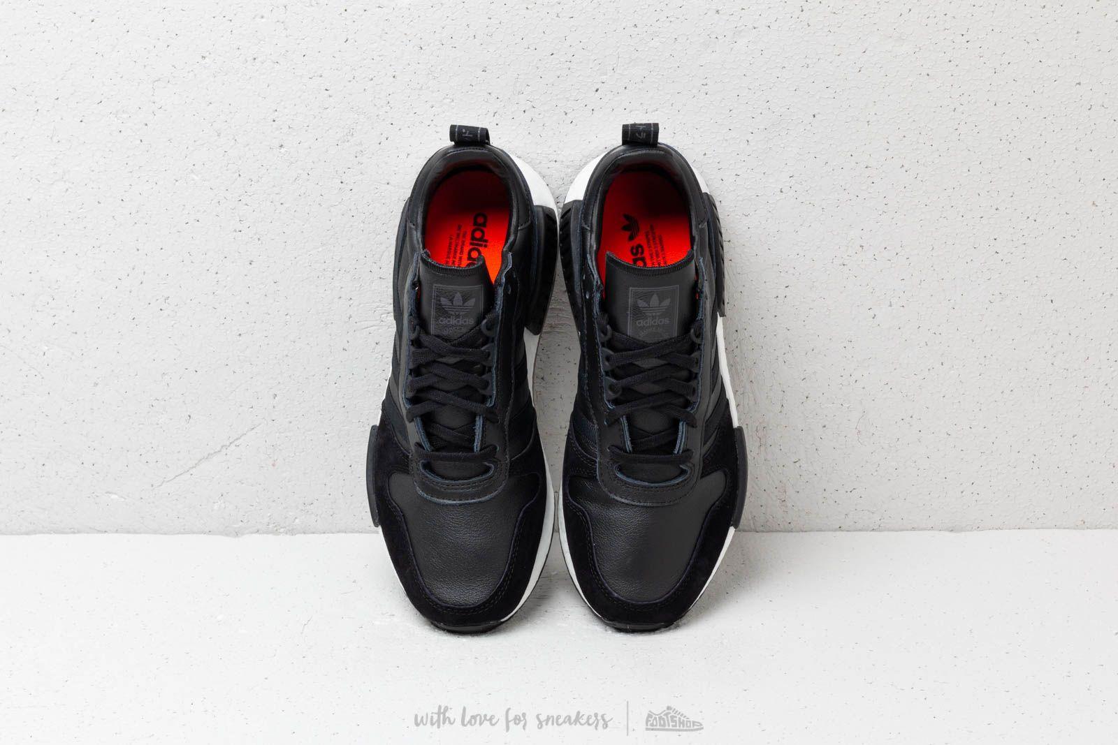 adidas Rising Star x R1 Core Black Utility Black Solar Red