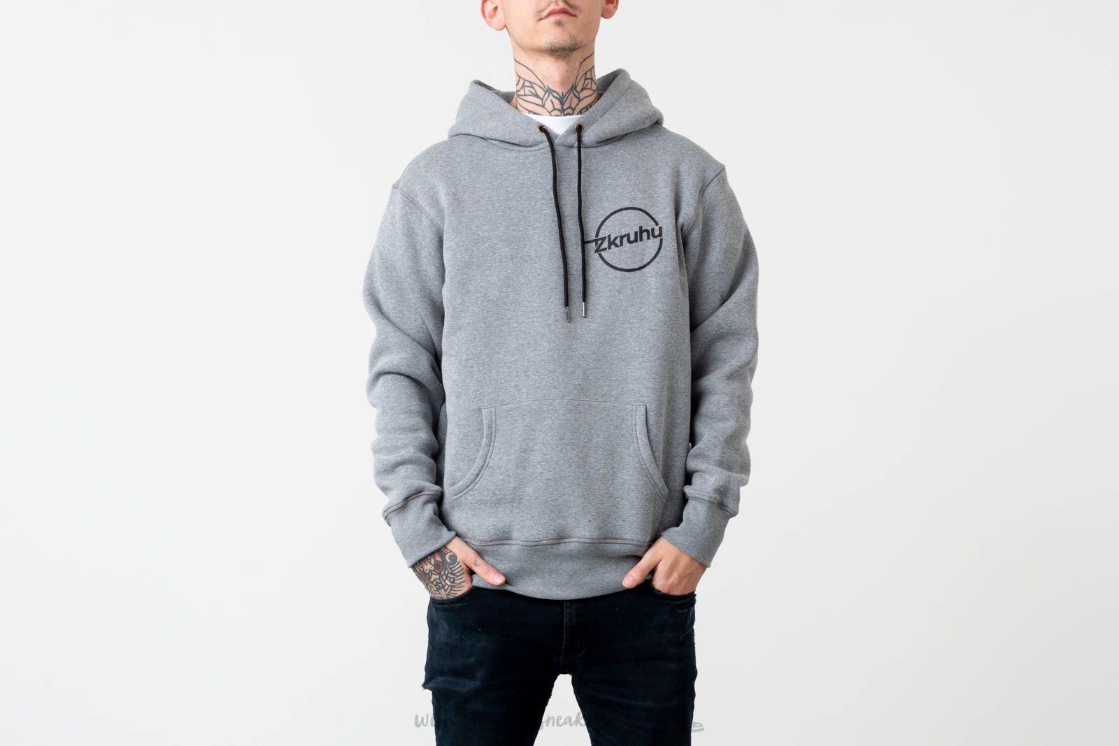 Zkruhu x FTSHP Hoodie Grey za skvelú cenu 29 € kúpite na Footshop.sk