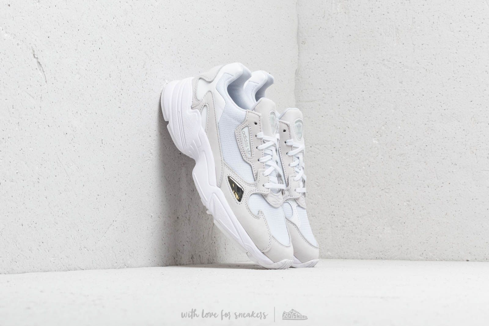 Women's shoes adidas Falcon W Ftw White/ Ftw White/ Crystal White