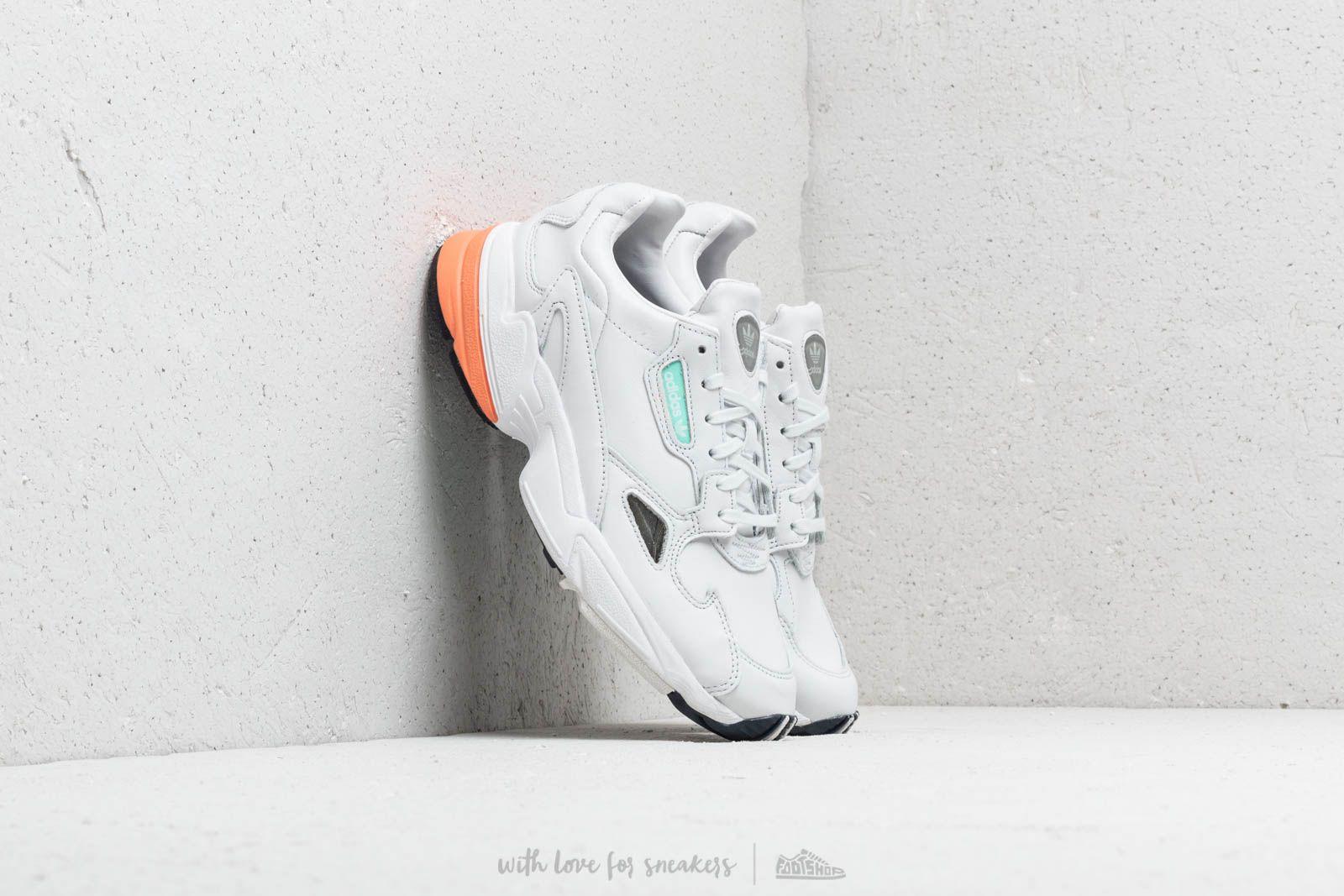 c219754e543 adidas Falcon W Crystal White/ Crystal White/ Easy Orange | Footshop