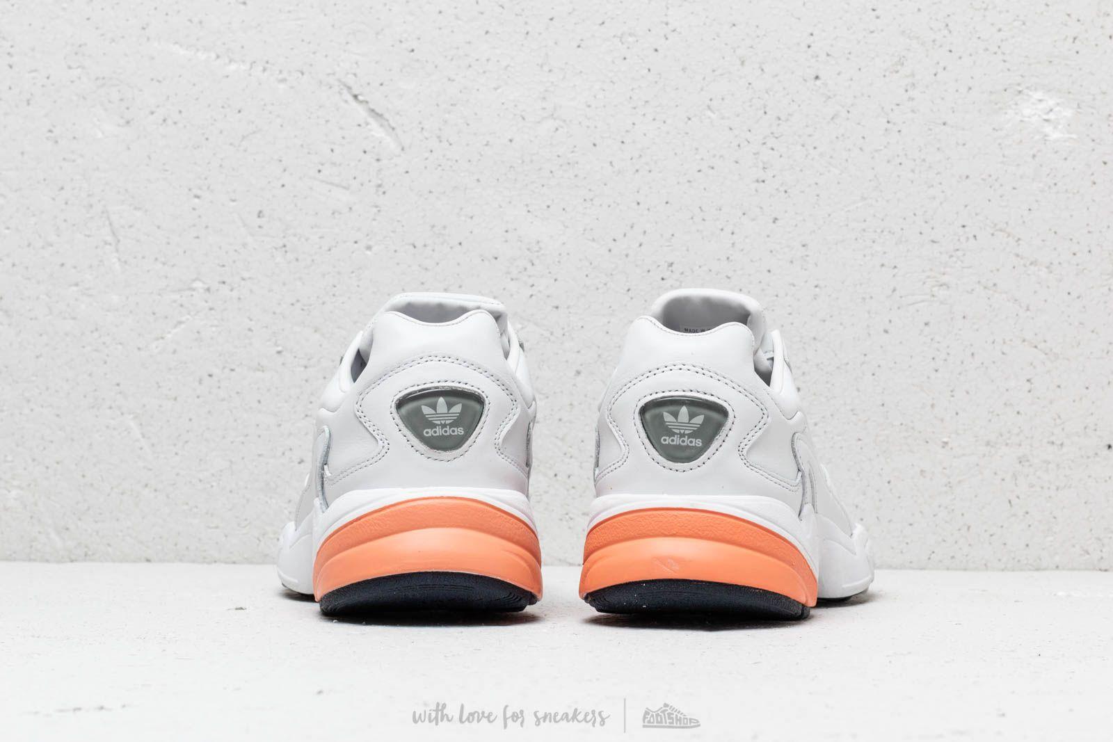 adidas falcon orange