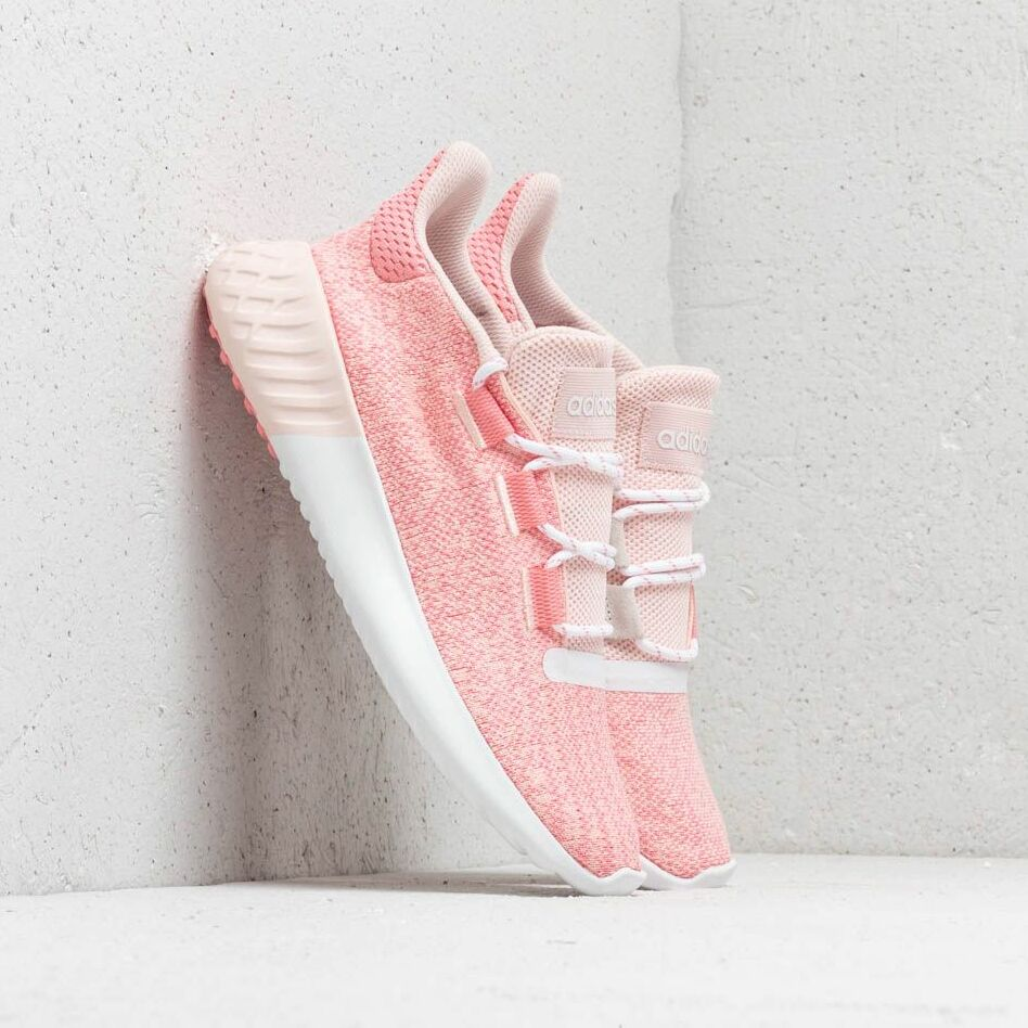 adidas Tubular Dusk J Icey Pink Super Pop Chalk White