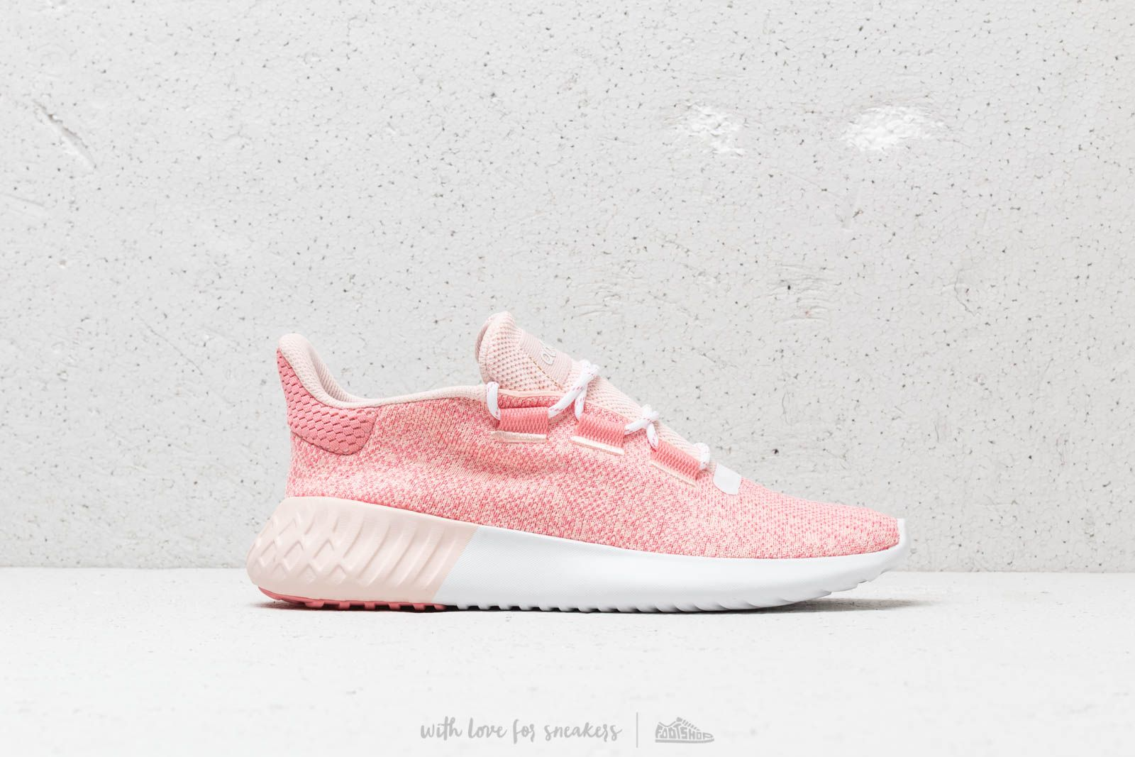 967afb3c63d adidas Tubular Dusk J Icey Pink  Super Pop  Chalk White at a great price