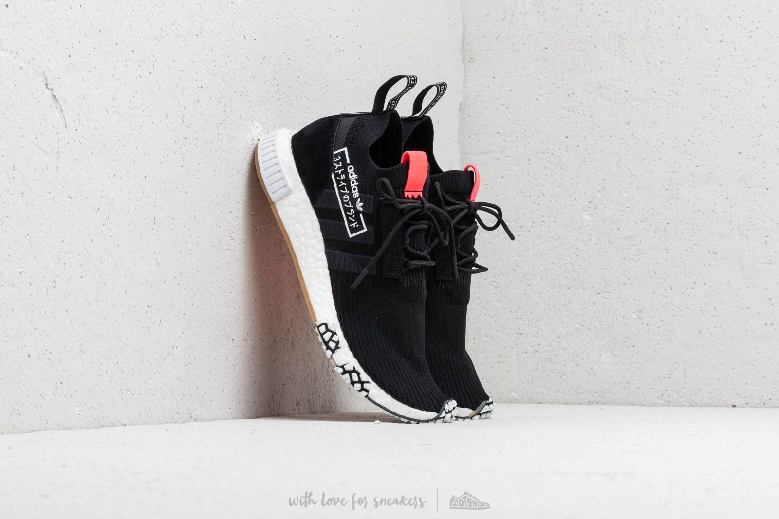 123e239b8a163 adidas NMD Racer Primeknit Core Black  Core Black  Flash Red at a great  price