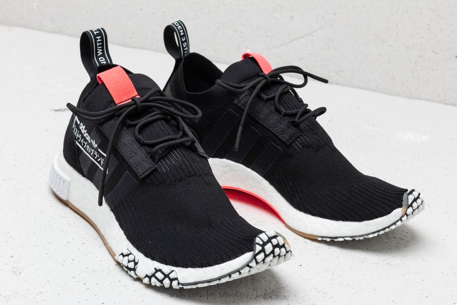 adidas NMD Racer Primeknit Core Black  Core Black  Flash Red at a great  price a1697a357