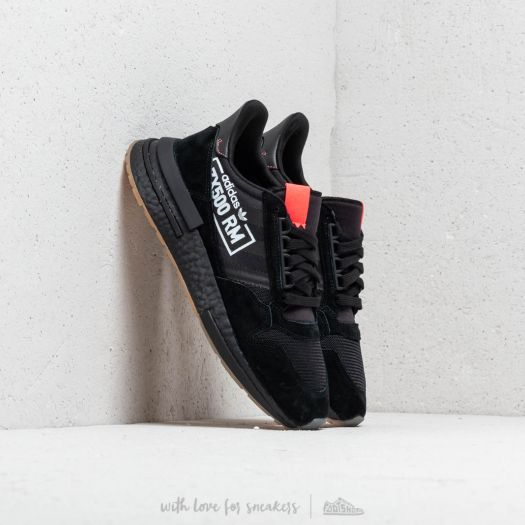 the best attitude e521d 4ab7a adidas ZX 500 RM Core Black/ Core Black/ Bluebird | Footshop