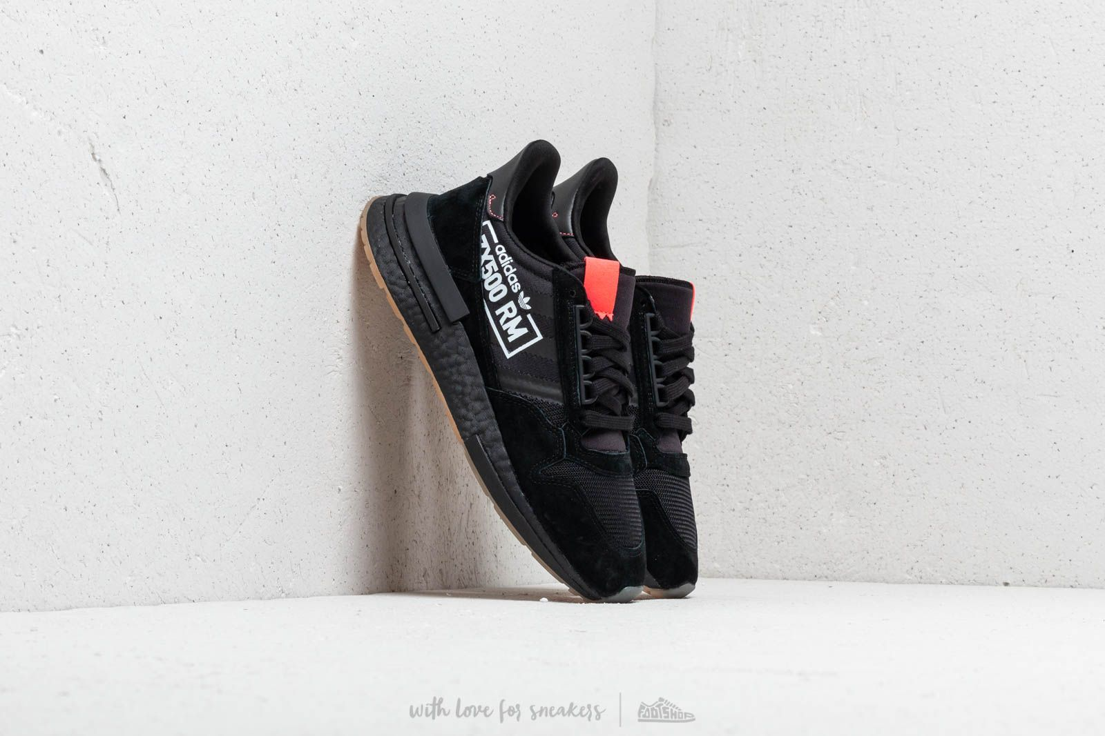 release date: 073b2 51b09 adidas ZX 500 RM Core Black  Core Black  Bluebird at a great price 139
