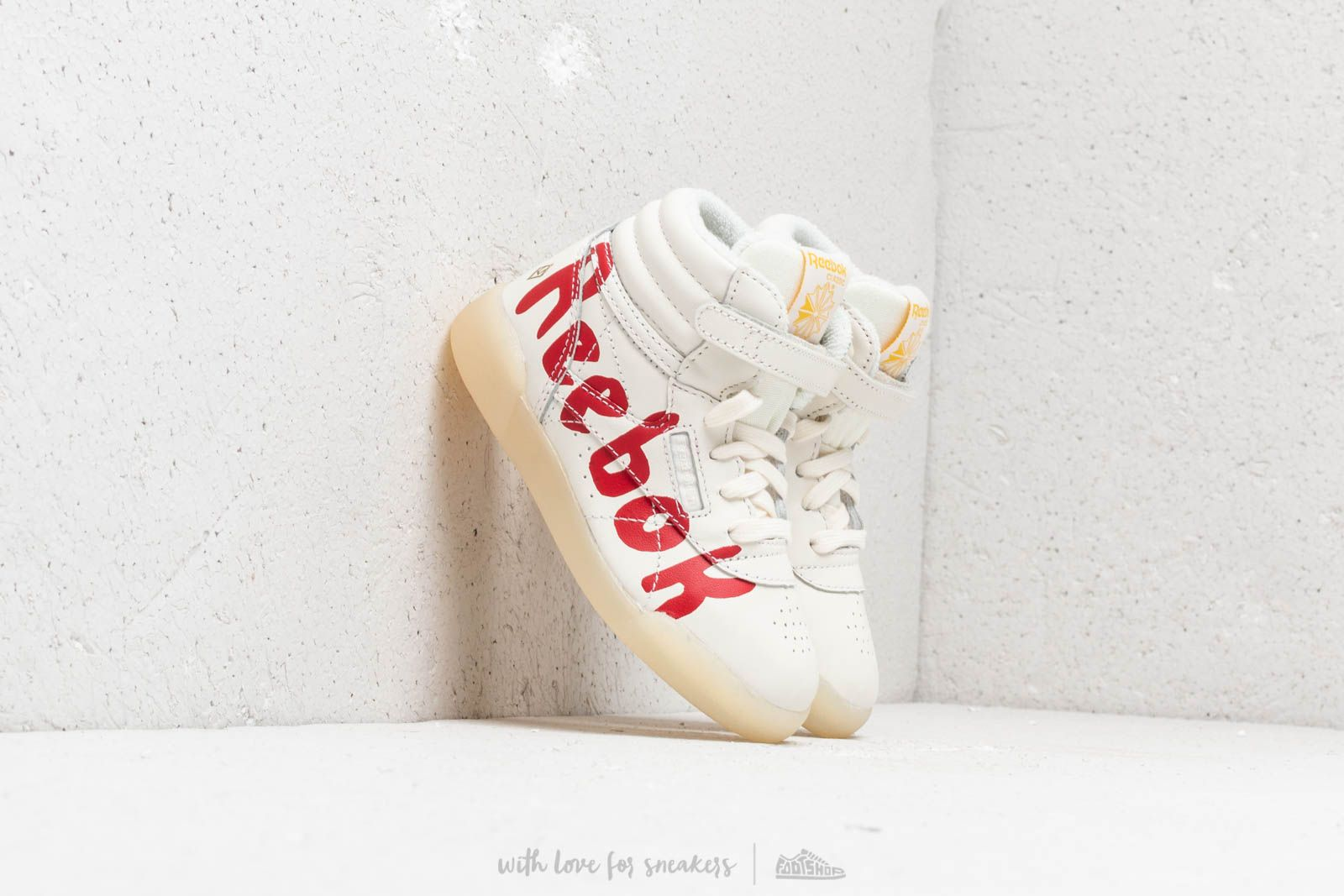 Reebok F/S Hi Tao Graphic Pristine/ Molten Lave/ Freesla/ Washed Yellow