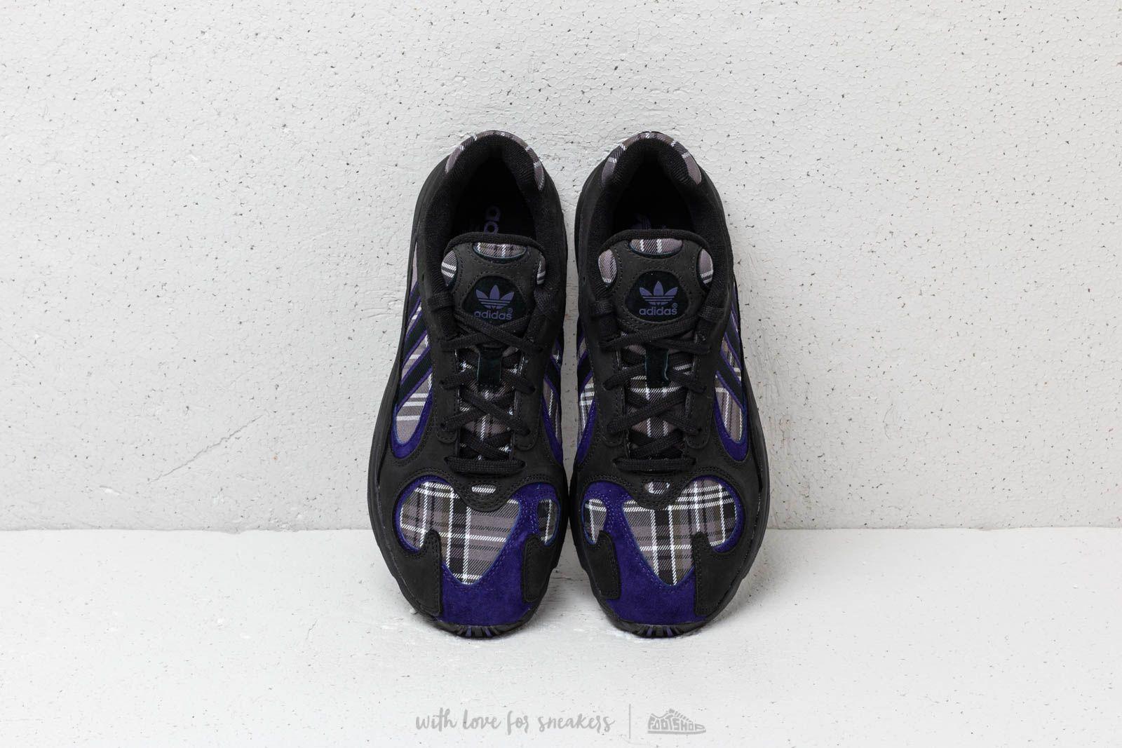 the latest 69c1f ddefb Adidas Yung-1 Core Black Core Purple Core Black za skvelú cenu 114