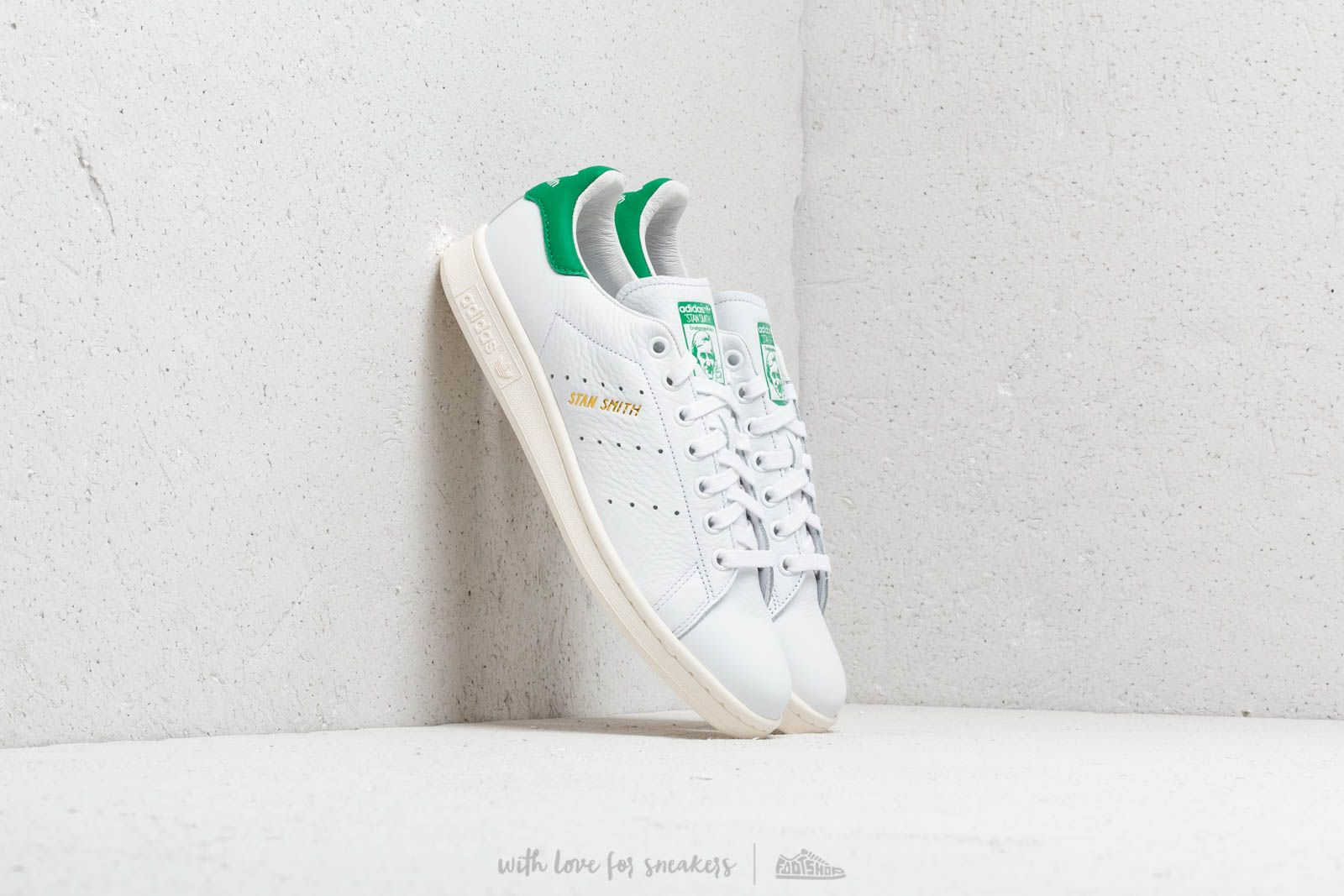 newest 1cde3 eacc1 Adidas Stan Smith Footwear White/ Footwear White/ Green ...