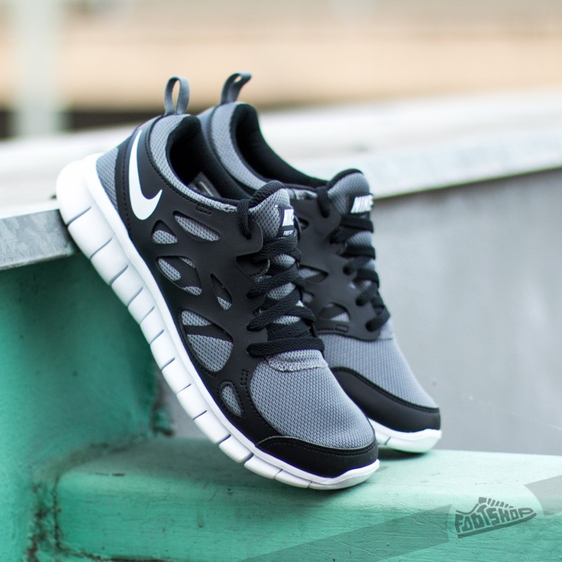 timeless design 651e7 32d42 Nike Free Run 2 (GS) Cool Grey/ Black/ White | Footshop