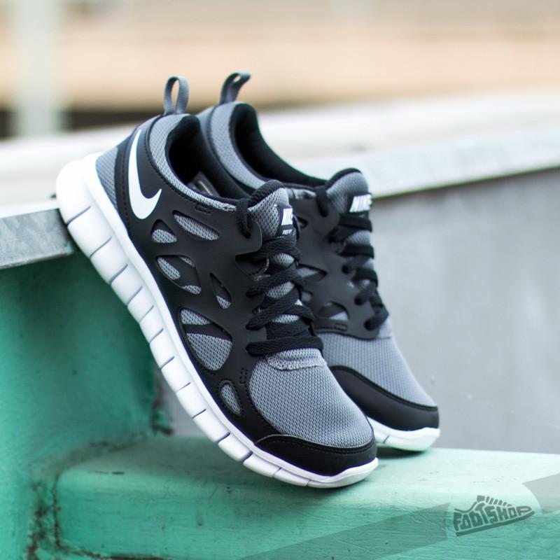 Nike Free Run 2 (GS) Cool Grey/ Black/ White   Footshop