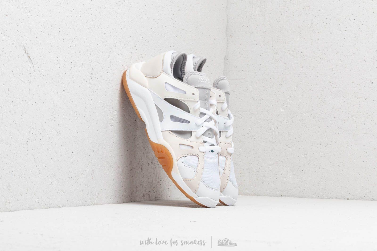 Moški čevlji adidas Dimension Lo Footwear White/ Chalk White/ Grey Two