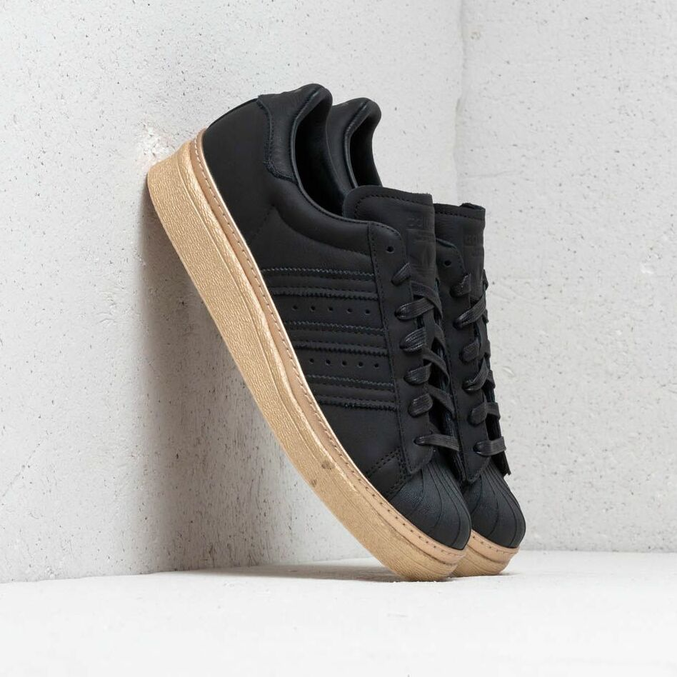 adidas Superstar 80s New Bold W Core Black/ Core Black/ Gold Metallic EUR 41 1/3