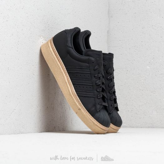 buy online c3cce 82598 adidas Superstar 80s New Bold W Core Black/ Core Black/ Gold ...