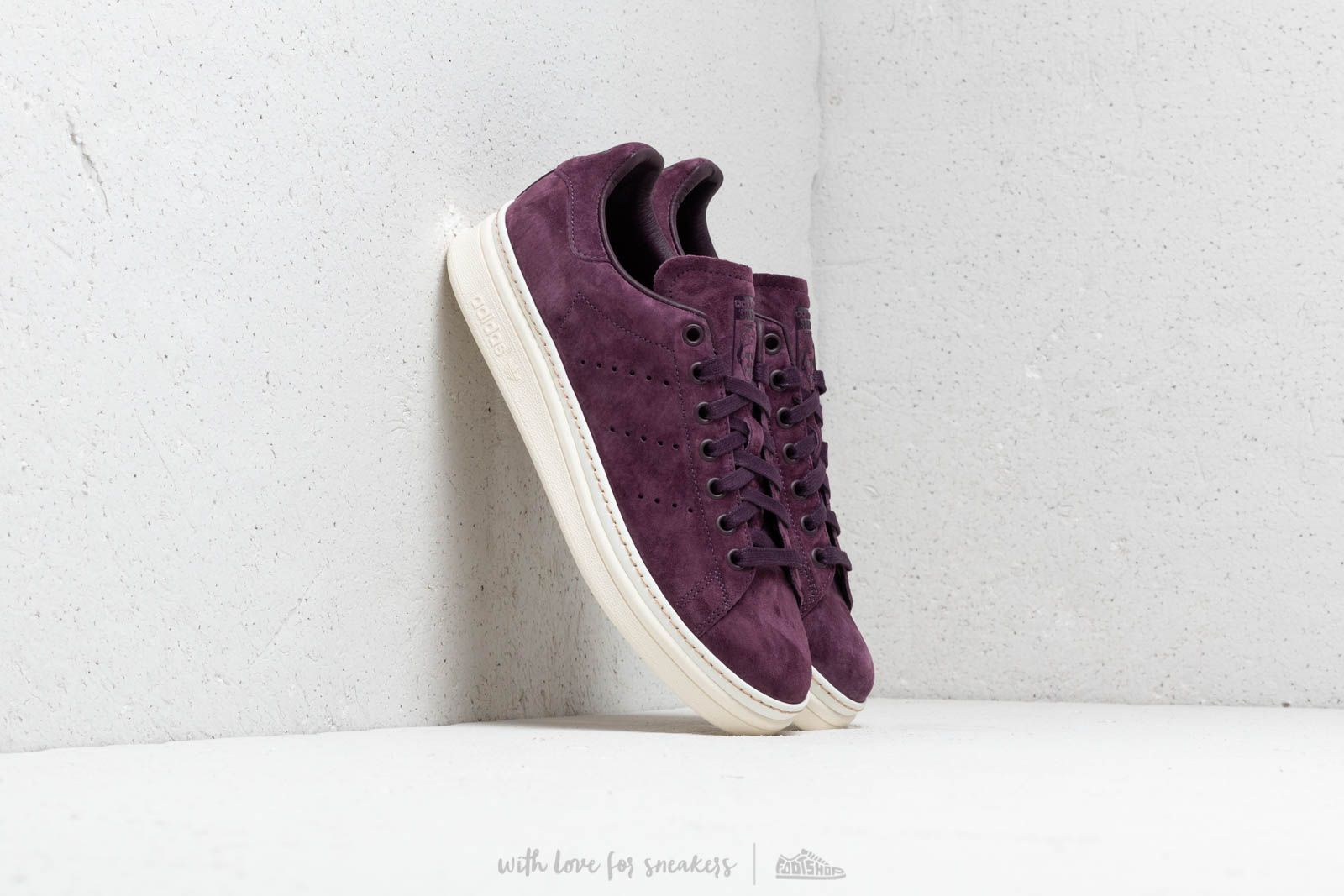 1541faa77c43 adidas Stan Smith New Bold W Noble Red  Noble Red  Off White at a
