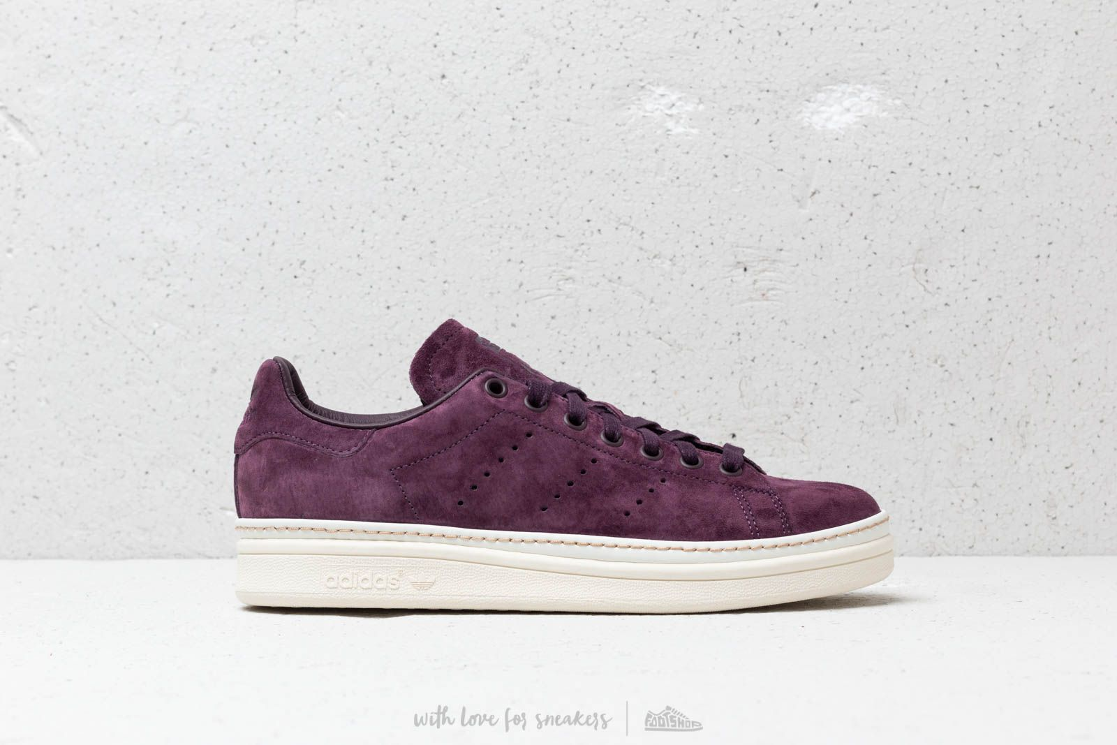 0c9e07cb71c adidas Stan Smith New Bold W Noble Red  Noble Red  Off White at a