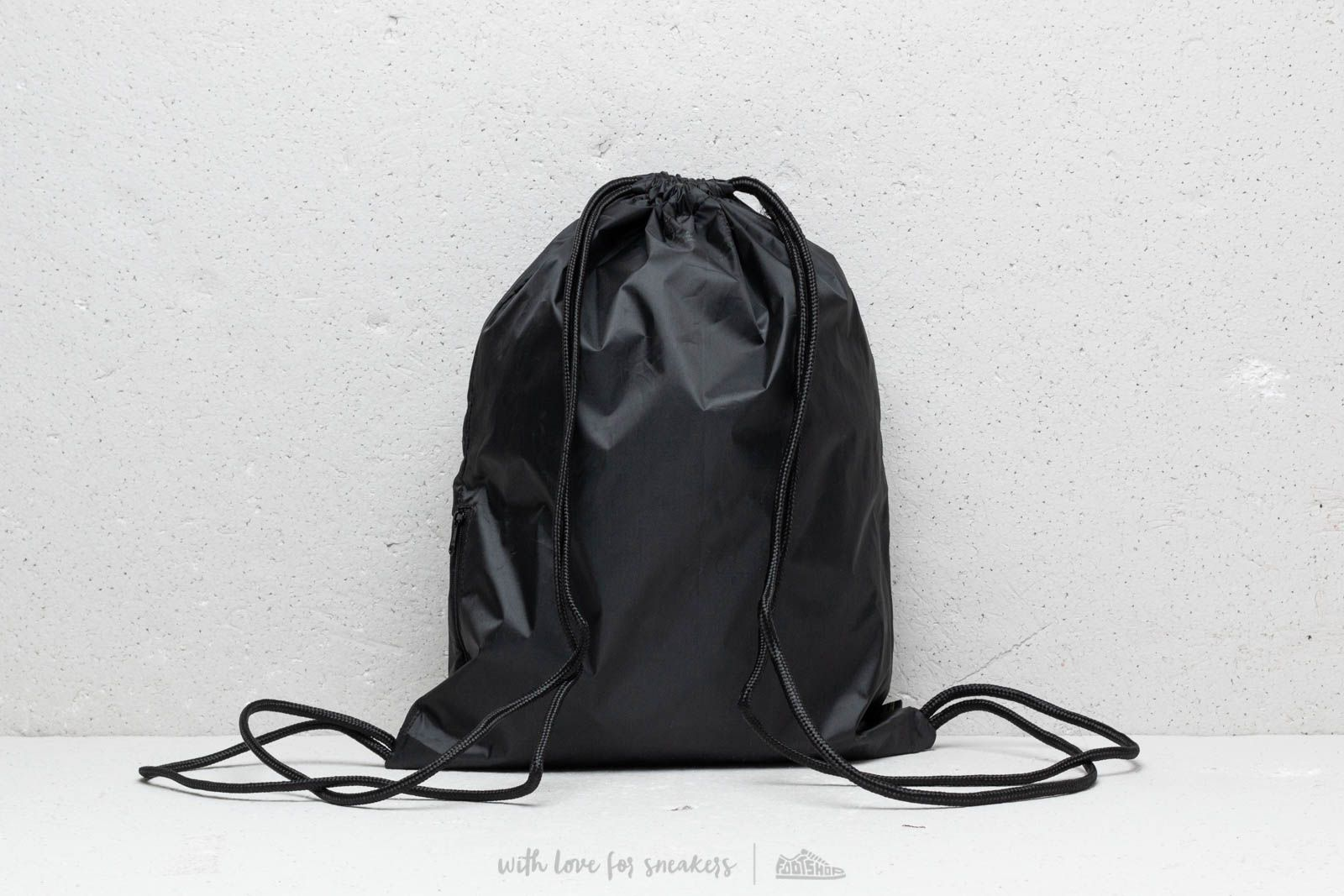 adidas Trefoil Gymsack Black  Night Cargo at a great price 13 € buy at  Footshop 82ab9aedec488