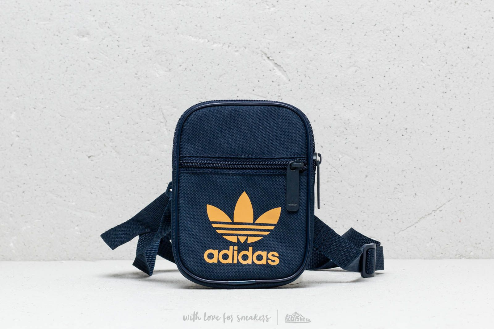 ed58114ded adidas Trefoil Festival Bag Collegiate Navy  Raw Sand