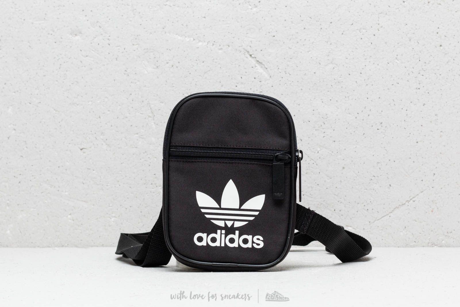 adidas Trefoil Festival Bag Black  White  6c6bd9a6d97bc