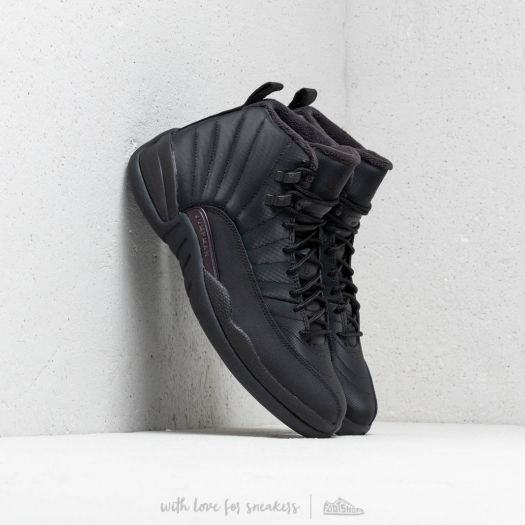 "quality design eb763 213d0 Air Jordan 12 Winterized ""Triple Black"" Black/ Black-Anthracite ..."