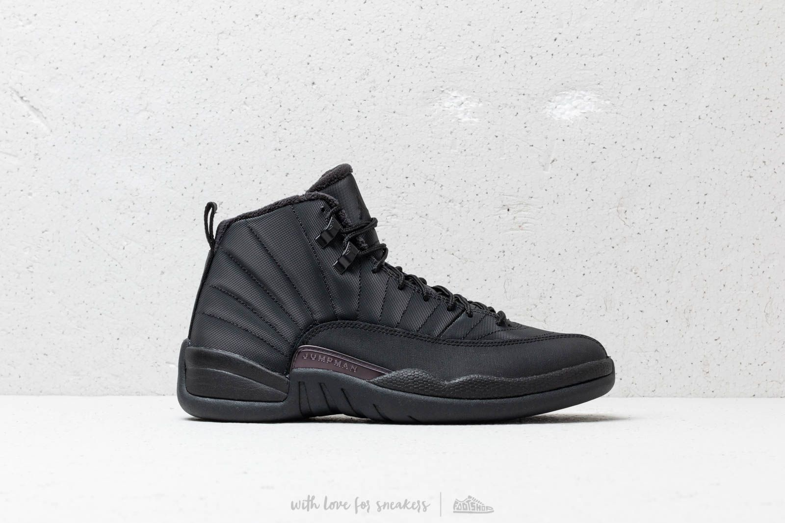 "390947a3bb1cd Air Jordan 12 Winterized ""Triple Black"" Black  Black-Anthracite at a great"