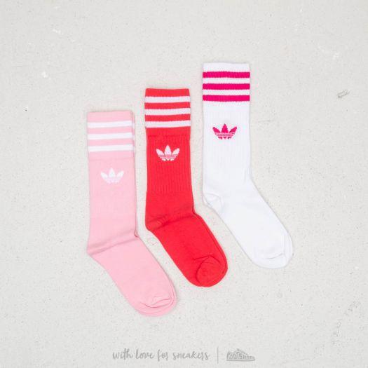 Socks adidas Solid Crew Sock 3 Pairs