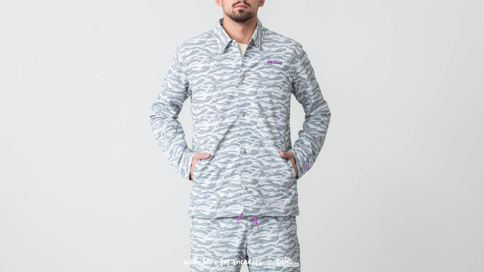 Asics Camo Jacket Glacier Grey za skvělou cenu 1 190 Kč koupíte na Footshop.cz