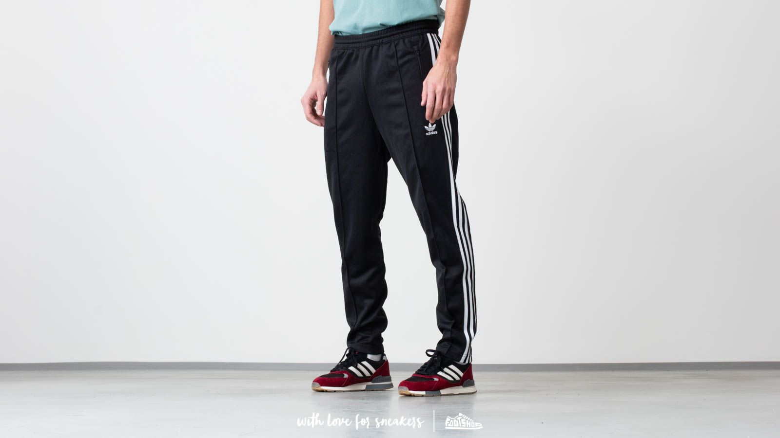 9186de9f78ea adidas Beckenbauer Track Pants Black at a great price  77 buy at Footshop