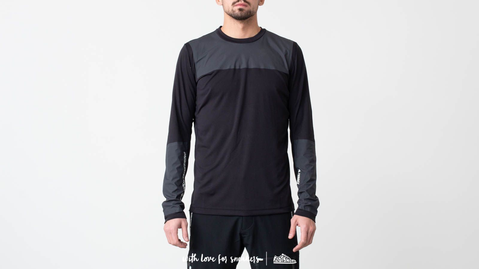 Футболки adidas Terrex x White Mountaineering Bonded Top Black