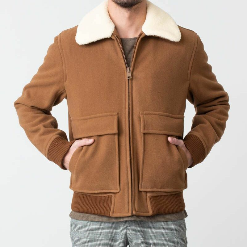APC Bronze Jacket Ice Brown