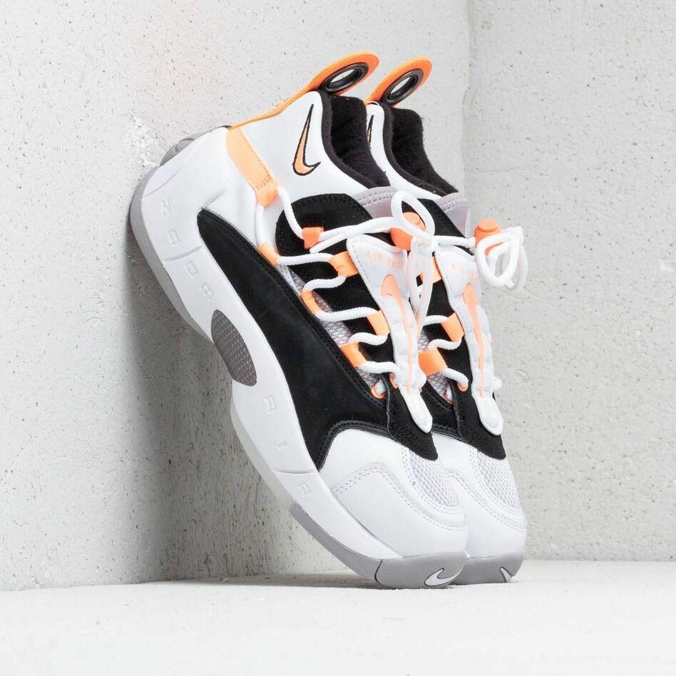 Nike Air Swoopes II W White/ Orange Pulse-Black-White EUR 38