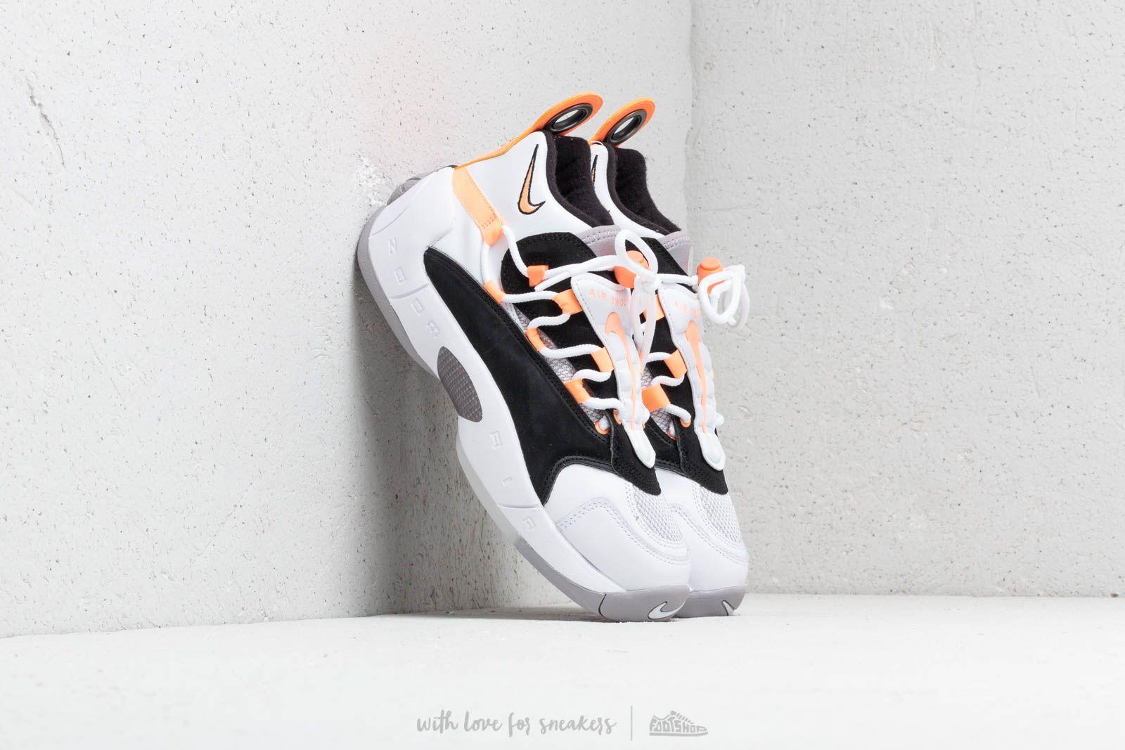 b5277f26d62 Nike Air Swoopes II W White  Orange Pulse-Black-White at a great