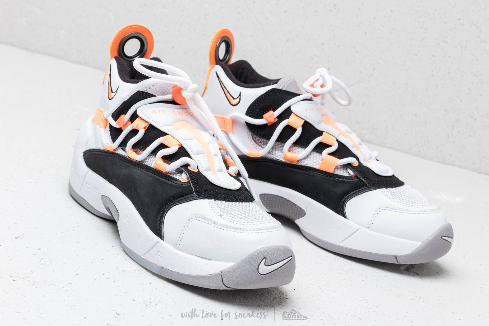 more photos 2b30f 0428b Nike Air Swoopes II W White Orange Pulse-Black-White at a great