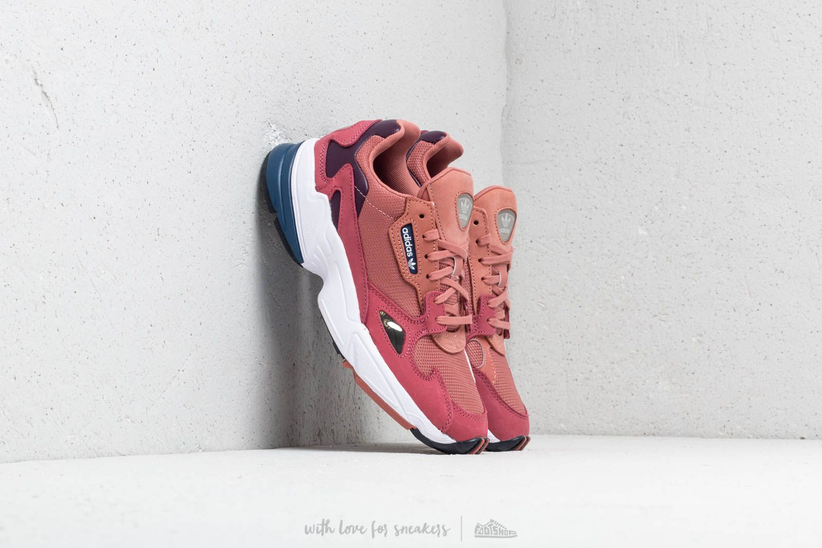 purchase cheap 7e4c7 27197 adidas Falcon W Raw Pink Raw Pink Dark Navy at a great price 99