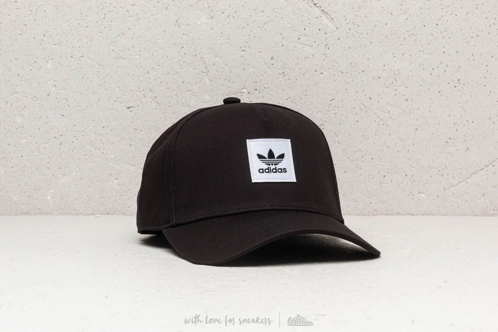 adidas A-frame Cap Black  White a muy buen precio 22 € comprar en fa88f072693