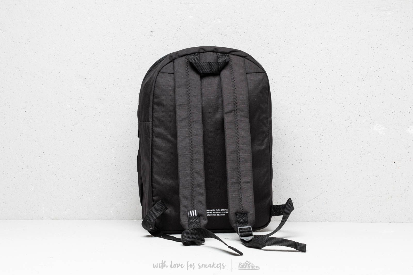 6724d4c2e0 adidas Classic Trefoil Backpack Black at a great price £24 buy at Footshop