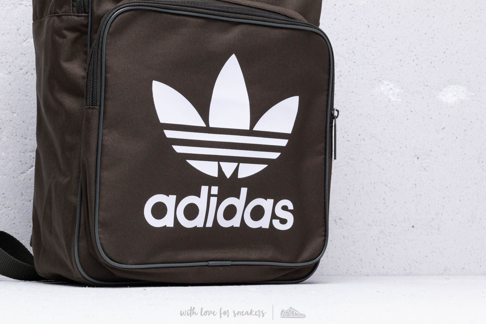 cd9fb868d adidas Classic Trefoil Backpack Night Cargo at a great price $23 buy at  Footshop