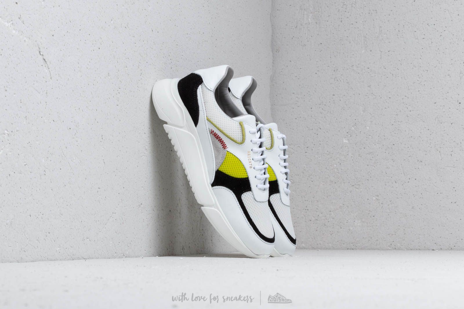 AXEL ARIGATO Genesis Sneaker White/ Black/ Yellow at a great price 132 € buy at Footshop