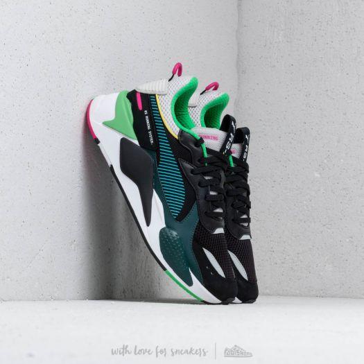 sonido implícito Dando  Men's shoes Puma RS-X TOYS Puma Black/ Blue Atoll | Footshop
